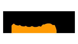 Logo de l'entreprise Amazon, plateforme de vente grand public pour Solar-Dripper