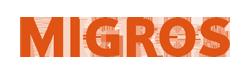 Logo de l'entreprise Migros partenaire commercial de Solar-Dripper